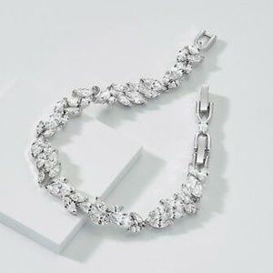 SWAROVSKI Louison Swan Wing Tennis Bracelet